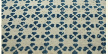 Ajrakh . Natural Color Cotton Fabric ~ 31 { Per meter }