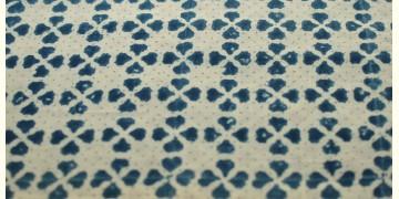 Ajrakh . Natural Color Cotton Fabric ~ 31 { Per meter }