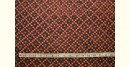 Ajrakh . Natural Color Cotton Fabric ~ 32 { Per meter }