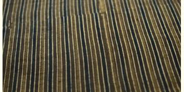 Ajrakh . Natural Color Cotton Fabric ~ 34 { Per meter }