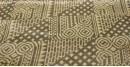 Ajrakh Natural Color Mashru Fabric ~ 13 { Per meter }