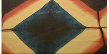Clamp Dye . Natural Color Cotton Silk Fabric ~ 14 { Per meter }