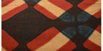 Clamp Dye . Natural Color Cotton Silk Fabric ~ 15 { Per meter }