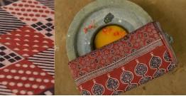 उत्सव  ◈ Mul Cotton . Ajrakh saree ◈ 16