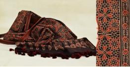 From the Wardrobe ☙ Cotton Ajrakh Dupatta {21}