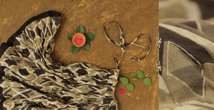 Flowers in a River ~ Ajrakh Skirts { Small } [6]