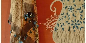 Handful of stars  ( Shibori ~ Ajrakh dupatta ) - {w}