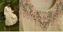Aranya ♣ Kantha Embroidered . hand spun Handloom ♣ Cotton Dress ♣ 7