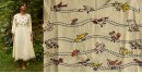 Aranya ♣ Kantha Embroidered . hand spun Handloom ♣ Cotton Dress ♣ 11