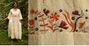 Aranya ♣ Kantha Embroidered . hand spun Handloom ♣  Cotton Dress ♣ 15