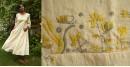 Aranya ♣ Kantha Embroidered . hand spun Handloom ♣ Cotton Dress ♣ 17