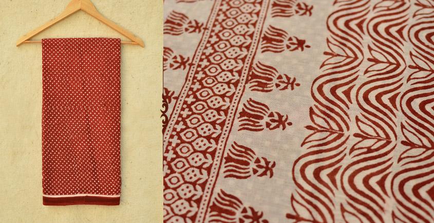 Samāyukta ✻ Jawariya . Block Printed . Cotton Saree ✻ 14