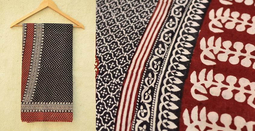 Samāyukta ✻ Jawariya . Block Printed . Cotton Saree ✻ 3