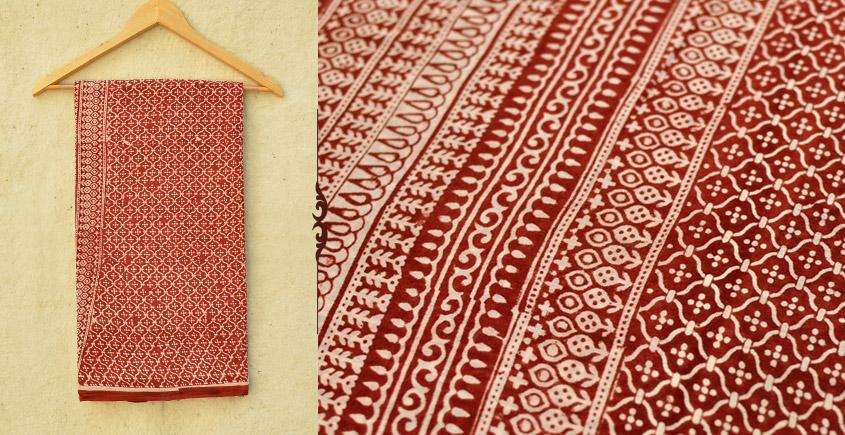 Samāyukta ✻ Jawariya . Block Printed . Cotton Saree ✻ 7