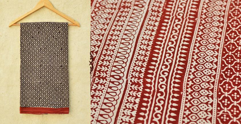 Samāyukta ✻ Jawariya . Block Printed . Cotton Saree ✻ 8