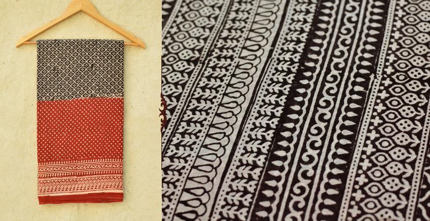 Samāyukta ✻ Jawariya . Block Printed . Cotton Saree ✻ 9