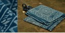 Satviki ✻ Indigo Dabu ✻ Cotton Saree -- 12