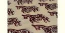 Varunika : Block printed Cotton Saree ~ 21