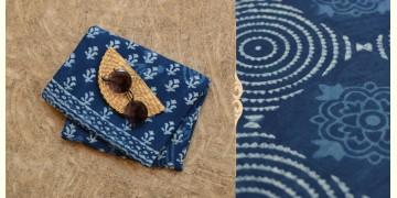 अश्विन ✻ Indigo Dabu ✻ Cotton Saree - 1