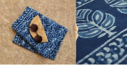 अश्विन ✻ Indigo Dabu ✻ Cotton Saree - 2