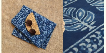 अश्विन ✻ Indigo Dabu ✻ Cotton Saree - 2