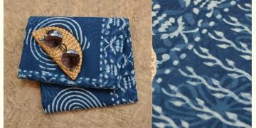 अश्विन ✻ Indigo Dabu ✻ Cotton Saree - 10