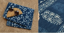 अश्विन ✻ Indigo Dabu ✻ Cotton Saree - 11