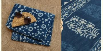अश्विन ✻ Indigo Dabu ✻ Cotton Saree - 11