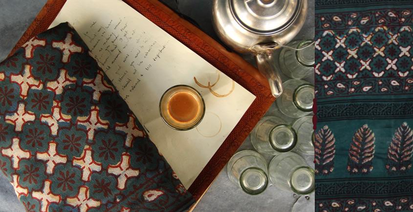 Of Tea Stains & Memories✑ Nandna Saree { Natural Color } ✑17