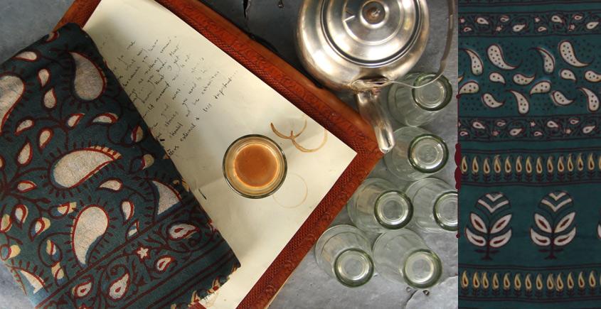 Of Tea Stains & Memories✑ Nandna Saree { Natural Color } ✑13