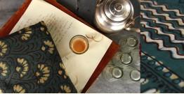 Of Tea Stains & Memories✑ Nandna Saree { Natural Color } ✑1