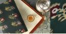 Of Tea Stains & Memories✑ Nandna Saree { Natural Color } ✑2