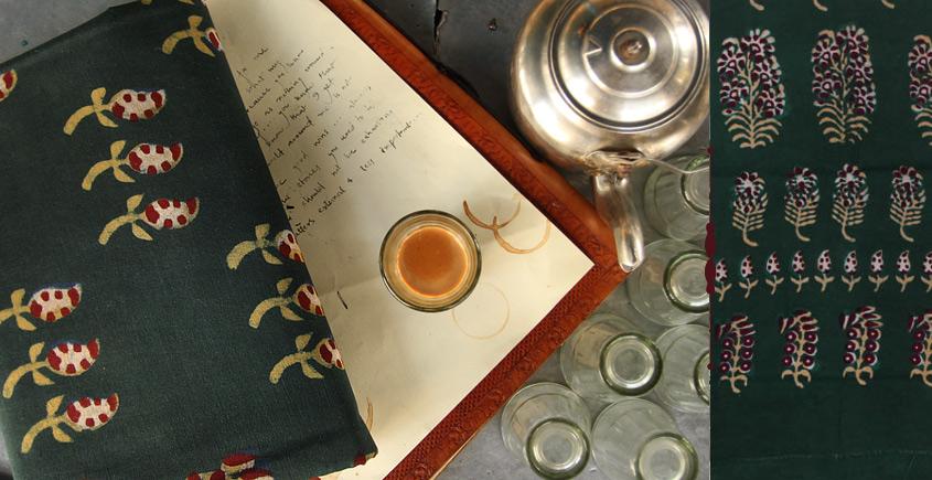 Of Tea Stains & Memories✑ Nandna Saree { Natural Color } ✑7
