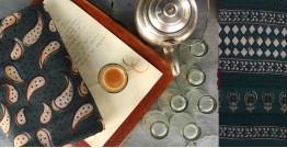 Of Tea Stains & Memories✑ Nandna Saree { Natural Color } ✑8