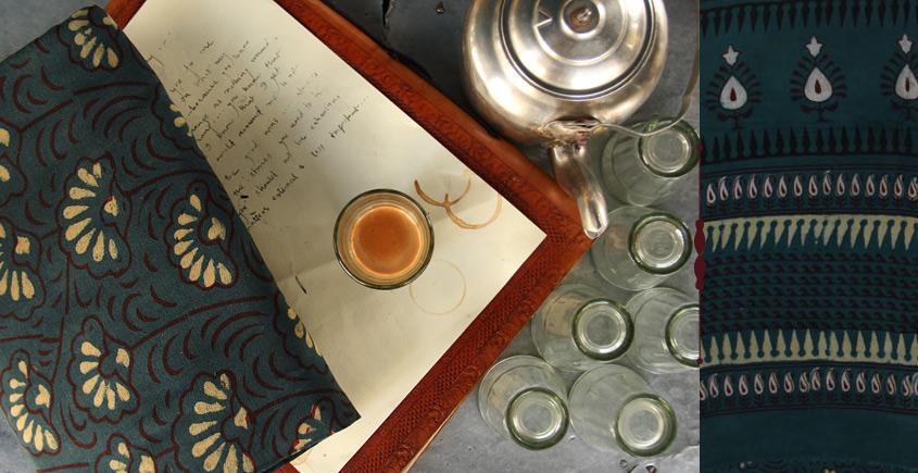 Of Tea Stains & Memories✑ Nandna Saree { Natural Color } ✑9