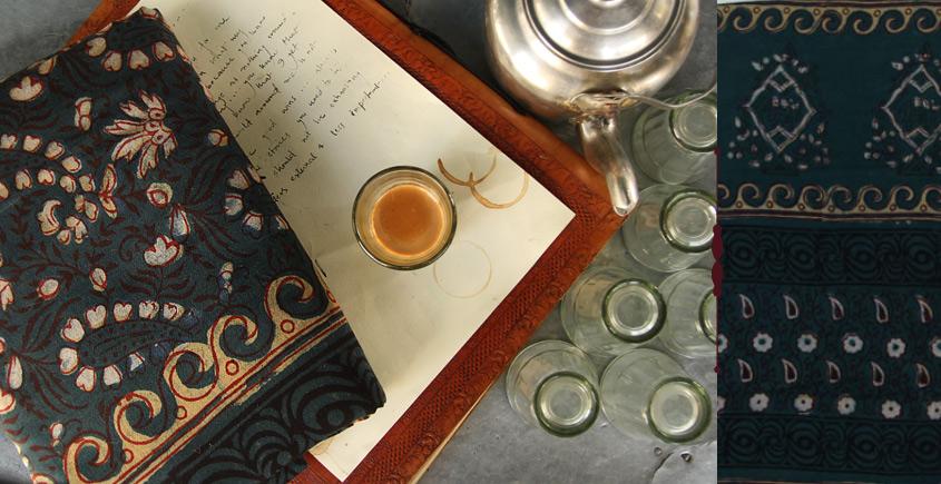 Of Tea Stains & Memories✑ Nandna Saree { Natural Color } ✑10