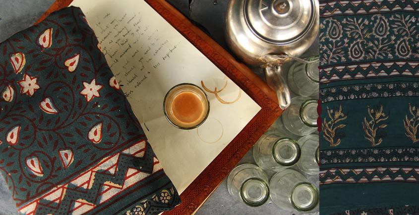 Of Tea Stains & Memories✑ Nandna Saree { Natural Color } ✑11