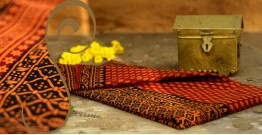 Manjri : Block printed Cotton Saree ~ 4