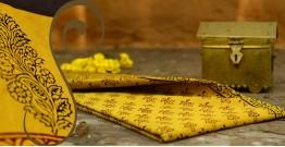 Manjri : Block printed Cotton Saree ~ 8
