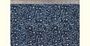 Indigo Dabu Print fabric ~ 8 (per meter)