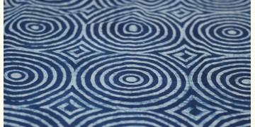 Indigo Dabu Print fabric ~ 9 (per meter)