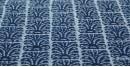 Indigo Dabu Print fabric ~ 14 (per meter)