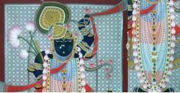 Pichwai Painting ~  Srinath ji ~ { 3X5 Feet }