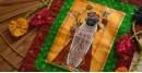 राधावल्लभ / RadhaVallabh ☙ Pichwai Miniature . Scroll Hangings . Srinathji ☙ 2 { 9 X 11in }