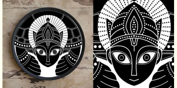 Art for Desserts ☘ Hand painted 'Indian God' Wall Plate ☘ 6