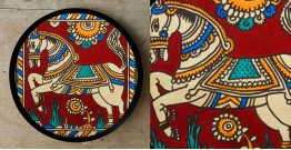 Art for Desserts ☘ Hand painted 'Kalamkari' Wall Plate ☘ 14