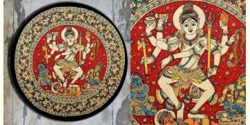 Art for Desserts ☘ Hand painted 'Kalamkari' Wall Plate ☘ 29