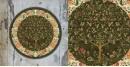 Art for Desserts ☘ Hand painted Kalamkari Wall Plate ☘ 32