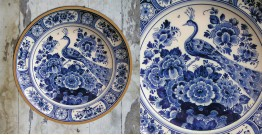 सजावट ❦ Hand Painted Dutch Wall Plate ❦ 14