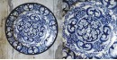 सजावट ❦ Hand Painted Dutch Wall Plate ❦ 12